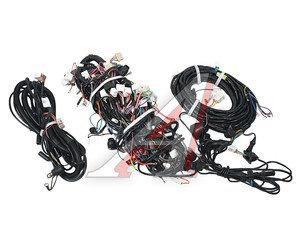 Проводка КАМАЗ-6520 комплект 4 жгута (кабины, рамные левый/правый, фонарей задних) 6520-3724000