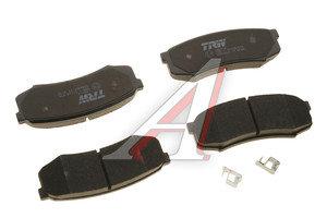 Колодки тормозные TOYOTA Land Cruiser 80, 90, 100 задние (4шт.) (ЗАМЕНА НА GDB1182) TRW GDB3464, GDB1182
