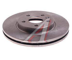 Диск тормозной CHEVROLET Cruze OPEL Astra J (R15) передний (1шт.) VALEO PHC R3021, DF7475, 13502045