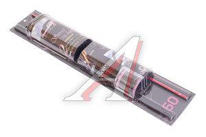 Шторка автомобильная роликовая (L) 60см черно-розовая комплект 2шт. Sweet lady 1701334-166 BK/P