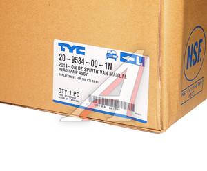 Фара MERCEDES Sprinter (14-) левая TYC 20-9534-00-1N, A9068202861