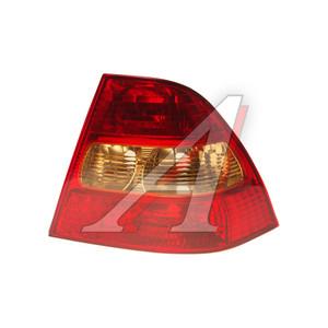 Фонарь задний TOYOTA Corolla седан (01-) правый (без фонаря габарита) TYC 11-5607-A1-6B, 212-19D8R-3UE, 81551-1E260