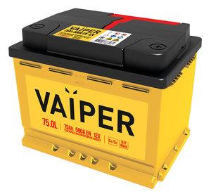 Аккумулятор VAIPER 75А/ч обратная полярность 6СТ75