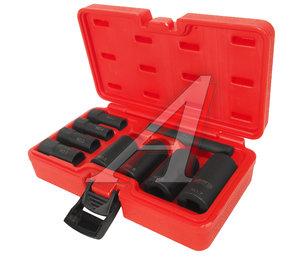 """Набор головок для снятия секреток 1/2"""" (GM,FORD,CHRYSLER) в кейсе 9 предметов JTC JTC-4297"""
