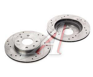 Диск тормозной ВАЗ-2110 вентилируемый комплект АвтоВАЗ Lada Sport 2110-3501070-88, 21100350107088, 2110-3501070