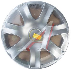 Колпак колеса R-15 серый комплект 4шт. 326 R-15