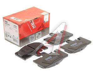 Колодки тормозные LEXUS GS430 (00-05),LS430 (00-),SC430 (01-) задние (4шт.) TRW GDB3323, 04466-50120/04466-50100/04466-50091/04466-50090