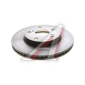 Диск тормозной TOYOTA Auris (07-) передний (1шт.) TRW DF4810, 43512-12670