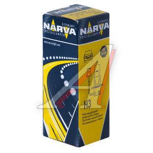 Лампа 12V H3 55W PK22s NARVA 48321, N-48321, АКГ12-55-1 (H3)