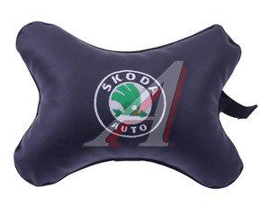 Подушка на подголовник SKODA экокожа PINGO M18, P-M18
