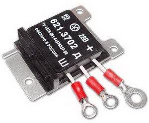 Реле регулятор напряжения 28В ЭМ 621/7412.3702, 621.3702 (аналог 7412.3702)