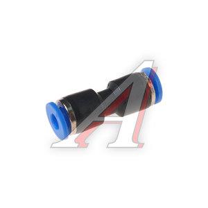 Фитинг для пластиковых трубок 4x4мм ROCK FORCE RF-SPU04