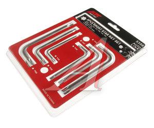 Набор ключей TORX T40-T60 Г-образных 6 предметов JTC JTC-5356