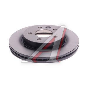 Диск тормозной VW Amarok (10-) передний вентилируемый (1шт.) TRW DF6482, 36237, 2H01615301A