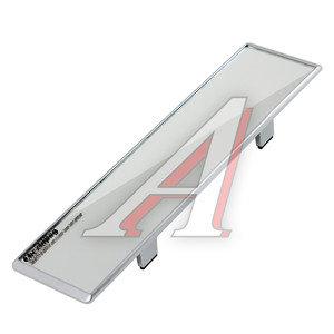 Зеркало салонное прямое 300мм антиблик Silver АВТОСТОП AB-35721S, AB-35721
