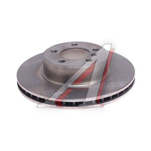 Диск тормозной BMW 7 (E65,E66) передний (324х30) (1шт.) KORTEX KD0135, DF4390S, 34116750265