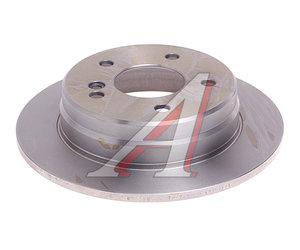 Диск тормозной MERCEDES C (W202) задний (1шт.) KORTEX KD0055, DF2653, A2024230012
