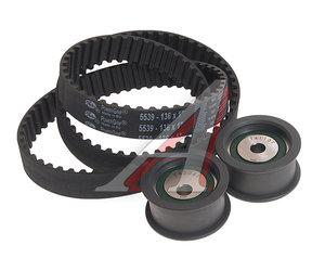 Ремень ГРМ ВАЗ-2112 комплект с роликами в упаковке АвтоВАЗ 2110-1006040-86, 21100100604086, 2112-1006040