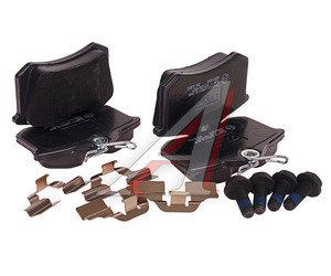 Колодки тормозные VW AUDI SEAT SKODA задние (4шт.) TRW GDB1330, 1K0698451J/3B0698451A/4B0698451E/8E0698451K/JZW698
