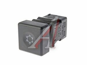 Выключатель кнопка ВАЗ-2110 кондиционера АВАР 378.3710-04.01 12V, 378.3710-04.01М