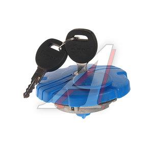 Крышка бака AdBlue SCANIA d=60мм с ключом и защитой пластик (синяя) KENT ADB-03