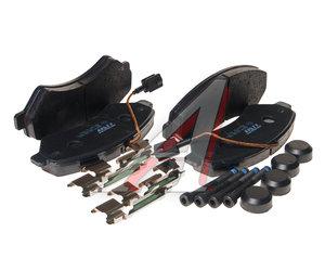 Колодки тормозные FIAT Ducato (06-) передние (4шт.) TRW GDB1982, SP1716, 77366022