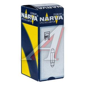 Лампа 24V C3W SV7.5 двухцокольная NARVA 171043000, N-17104