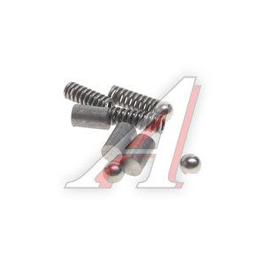 Ремкомплект ГАЗ-33104 КПП штока переключения (ролик-3шт.,фиксатор-3шт.,пружина-3шт.) АВТОРГ 33104-1701182/70/99, 33104-1701182