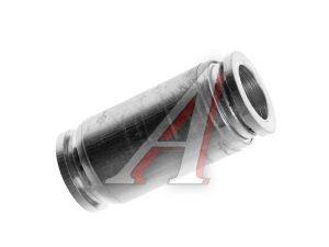Соединитель трубки ПВХ,полиамид d=12мм прямой металлический MPUC12, АТ-0388/АТ10388