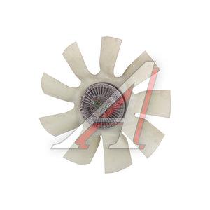 Вентилятор КАМАЗ-ЕВРО 640мм с вязкостной муфтой в сборе (дв.CUMMINS ISBe185-300) KORTEX 020004622, TR16417 9лоп.