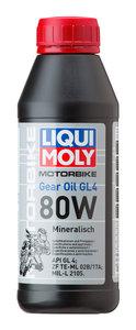 Масло трансмиссионное RACING GEAR OIL мото GL-4 мин.0.5л LIQUI MOLY LM SAE80W 7587, 84240