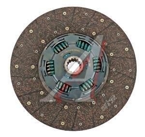 Диск сцепления HYUNDAI HD260,270,450,AeroQueen дв.D6AC (M12S5X5) (430мм) ведомый VALEO PHC HD-122, VKD30917, 41100-8A205