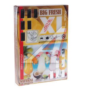 Ароматизатор под сиденье гелевый (пина колада) 300г Big Fresh XL FKVJP BXL-147 \Big Fresh, BXL-147
