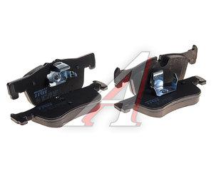 Колодки тормозные BMW 1 (F20,F21) (11-) передние (4шт.) TRW GDB1935, 34116858910/34116850567