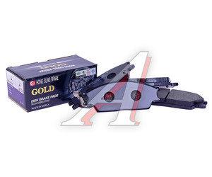 Колодки тормозные HYUNDAI Accent (99-),Getz,Coupe передние (4шт.) HSB HP0004, GDB3331/GDB373, 58101-1CA10