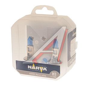 Лампа набор 12V H1 55W + W5W бокс (2шт.+2шт.) Range Power NARVA 980142100, N-98014RPW2, А12-55(Н1)