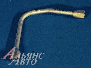Трубка тормозная КАМАЗ от ресивера к клапану 53212-3506204