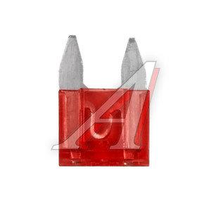 Предохранитель 10А флажковый Red MINI TX FT-10MI
