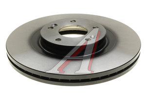 Диск тормозной HYUNDAI Santa Fe (09-) KIA Sorento (09-) передний (1шт.) TRW DF7973, 51712-2P700