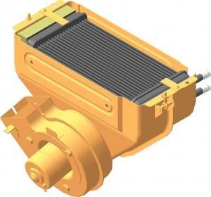 Отопитель УРАЛ-4320 в сборе ШААЗ 4320-8101010-01