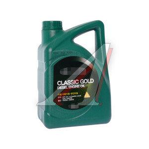 Масло дизельное HYUNDAI 10W30 п/синт.4л CLASSIC GOLD CF-4 OE 05200-00410, HYUNDAI 10W30