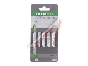 Пилка для лобзика набор 5шт. дерево HCS 100.4мм HITACHI HTC-750042