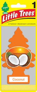 Ароматизатор подвесной пластина (кокос) Елочка CAR FRESHNER CF-10317