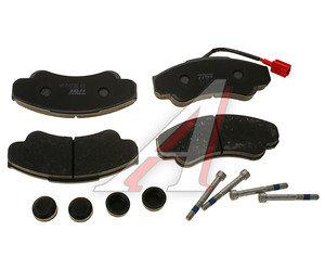 Колодки тормозные PEUGEOT Boxer CITROEN Jumper FIAT Ducato (94-) передние (4шт.) TRW GDB1518