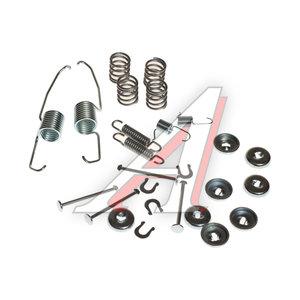 Ремкомплект TOYOTA Camry (83-88) колодок тормозных задних TRW SFK124, 04942-05010