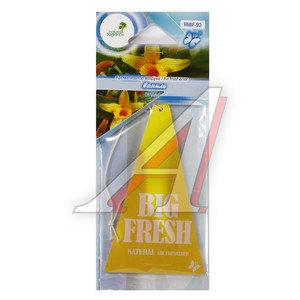 Ароматизатор подвесной пластина (ваниль) Big Fresh FKVJP PABF-92 \Big Fresh, PABF-92