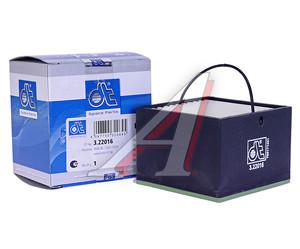 Фильтр топливный MAN сепаратора квадратный (75х75х55мм для SEPAR2000/05 с подогревом) DIESEL TECHNIC 3.22016, PU88, 322016
