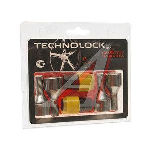 Болт колеса М12х1.5х24 секретки конус комплект 4шт. 2 головки под ключ 17/19мм TECHNOLOCK TL-I3, I3