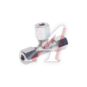 Соединитель трубки ПВХ,полиамид d=6мм тройник металлический EUROPART 0518600140, 652866