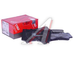 Колодки тормозные TOYOTA Land Cruiser 200 передние (4шт.) TRW GDB3524, 04465-60280